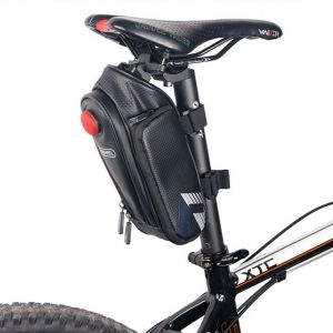 Original Roswheel Cycling Bicycle Saddle Seat Pouch Bag (Bottle no Included)