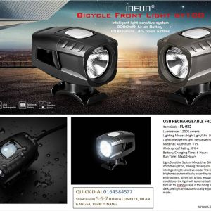 INFUN Front light ( USB RECHARGEABLE )