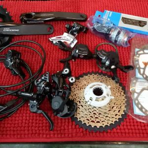 SHIMANO DEORE  M6000 2X10SPEED