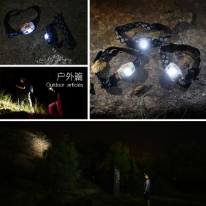Aonijie Dual LED  Headlamp 110 Lumen