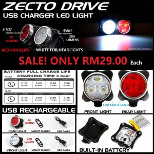 ZECTO USB CHARGER LED LIGHT