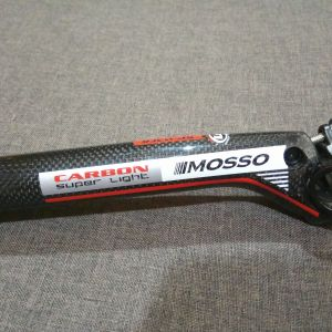 Mosso Full Carbon Seatpost 31.6 x 400mm Offset 20mm