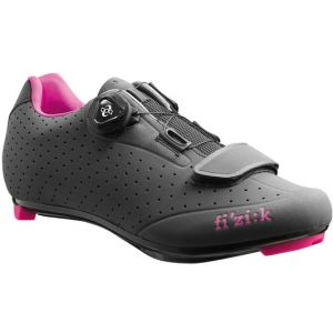 FIZIK R5B DONNA ROAD SHOES WOMENS GREY/PINK