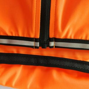 CYCLE2U Fluorecence Orange 100% Rainproof + Windproof + Light weight