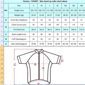 CYCLE2U Professional Man''s Shorts Sleeve Cycling Jersey