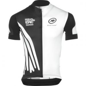 Ready Stock !! Assos Jersey Set With Gel Padding Bib Short