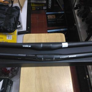 Voice carbon fiber handle bar (700mm)