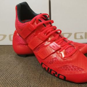 Giro Prolight Techlace Road Shoe - Bright Red