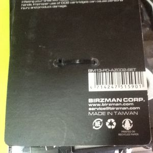 Birzman E-Grip 16g With Inflator And Rubber Grip / Taiwan (free pos w.m)