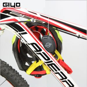 Giyo Multi Function Mini Cable Bicycle Lock 3 Digit Password