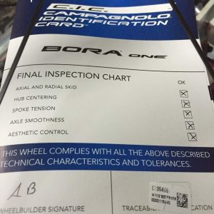 Bora One 50 Tubular Dark Label