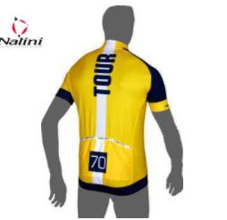 Nalini PRO GARA Ti short sleeve jersey yellow SIZE XL LOOSE TYPE