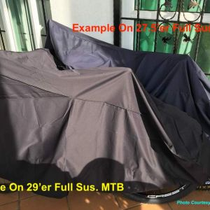 Bike Cover (Super High Quality) - Extra Thick & Durable. Fits All Bikes Including 29er.