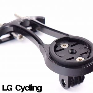 NC Nailed Garmin & Gopro Alloy CNC stem mount with 2 bolt design