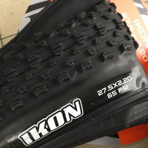 "Maxxis Ikon 27.5""x2.2 MTB Race Tires (Pair) Folding Bead - Taiwan Made -- free courier"