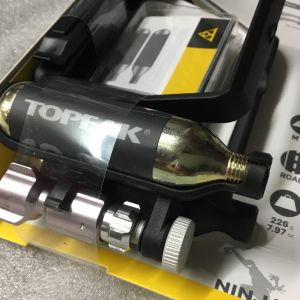 Topeak Ninja CO2 Plus (BottleCage@Tire Lever) Taiwan Made @ free pos