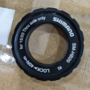 Shimano original 15/20mm axle center lock ring