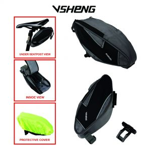 "VSHENG-BS01 SADDLE BAG (FOR 3"" to 6""+ SMART PHONE)"