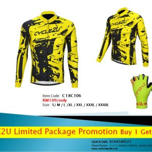 Original Cycle2u Man LIMITED EDITION PROMOTION PACKAGE