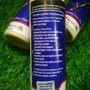 JOE'S NO FLAT ROAD TUBE/TUBELESS/TUBULAR RACING SEALANT 125ML (FREE POS)