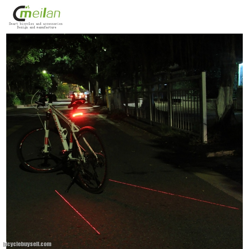 7b7c067ce29 Meilan X5 Remote Control Signal / Rear / Laser Light Safety Bicycle /  Scooter Tail Light