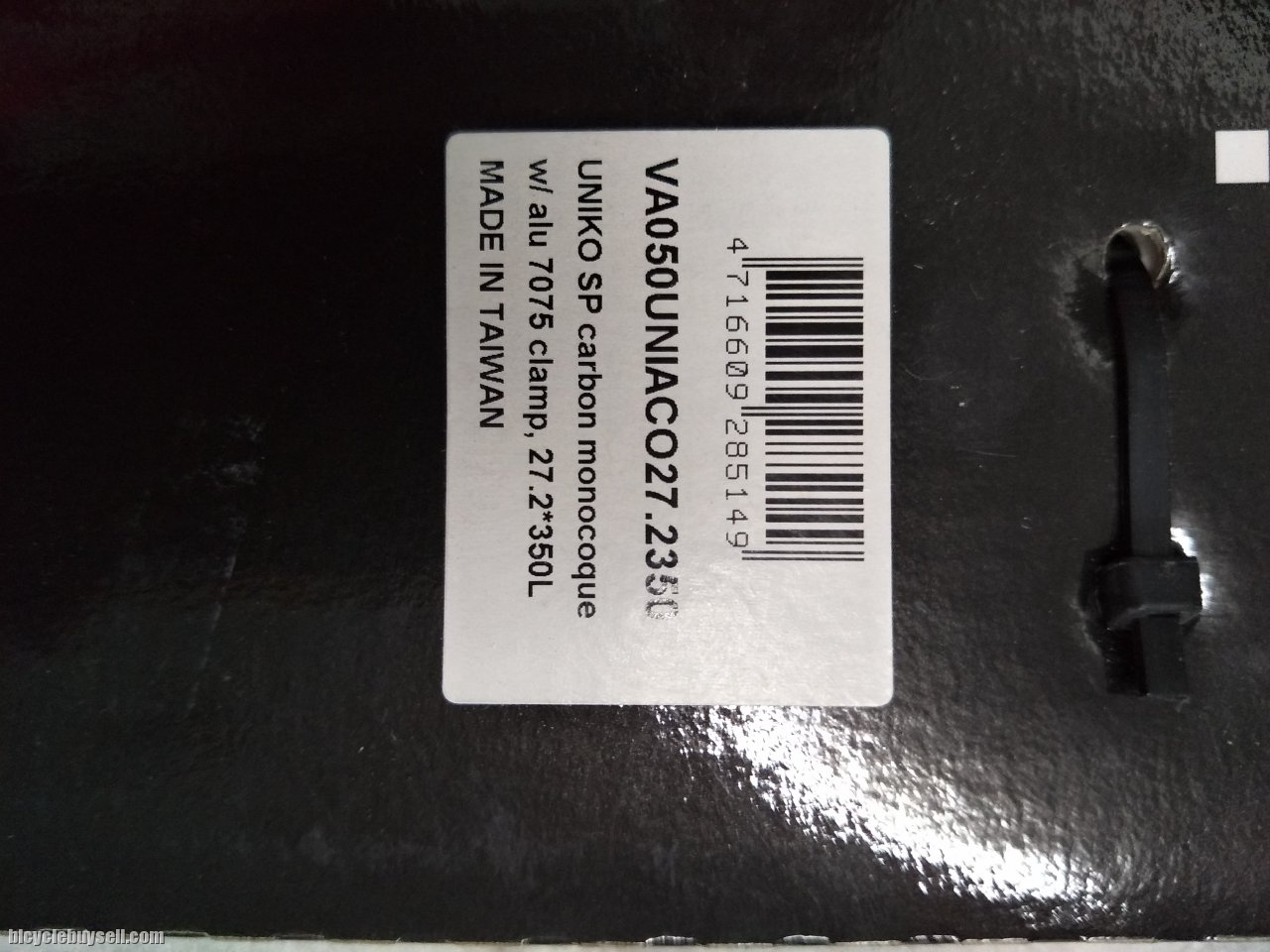ITM Uniko Carbon Seatpost 27.2mm Black