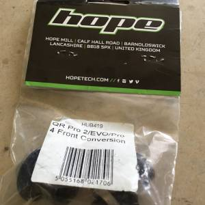 Hope Front Hub conversion Kits 9mm QR - Front - Made In UK -- free courier