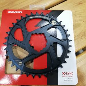 SRAM XX1 EAGLE CHAINRING 36T / 3MM OFFSET **GOLD DECAL**
