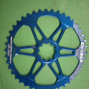 12oclock 42t giant rear cog blue last piece clearance