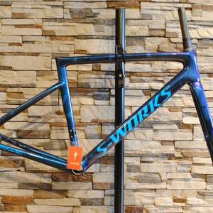S-WORKS TARMAC SL6 DISC FRAME 30% LESS !