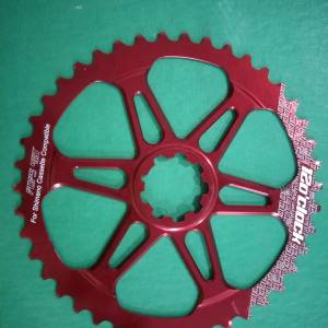 12oclock giant sprocket 42t last unit red clearance