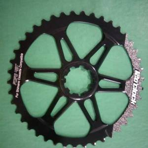12oclock black 42t giant sprocket last piece clearance
