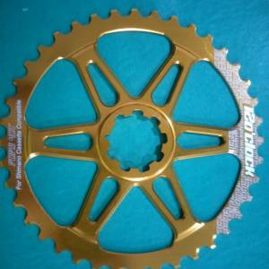 12oclock gold 40t giamt sprocket - last piece clearance offer
