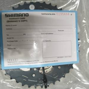 Shimano slx 11sp 11-42 cassete- guaranteed original with shimano warranty last set clearance