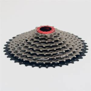 BOLANY 9s 27s 11-40T Climbing cassette Black silver | Shimano Sunrace Sunshine