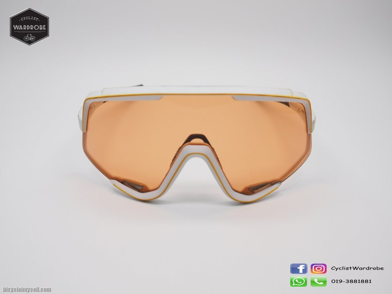 c2c9b55358 100% Glendale Soft Tact off White - Persimmon Lens.