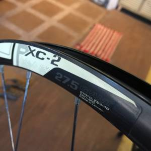 giant pxc-2 wheelset 27.5,,,offer rm350