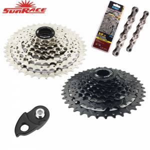 Sunrace CSM680 CSM990 8 speed 11-40T wide ratio bike bicycle MTB cassette 24s 8s