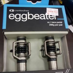 CrankBrothers EggBeater 3 (2019) Brand New !! 288gram
