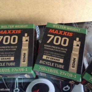 Maxxis Light Weight Road Tubes 700-18/25c FV / 60mm