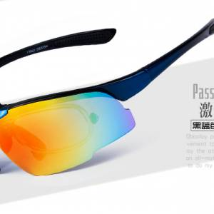 Authentic Obaolay short sightedness Sunglasses Sport cycling retractable