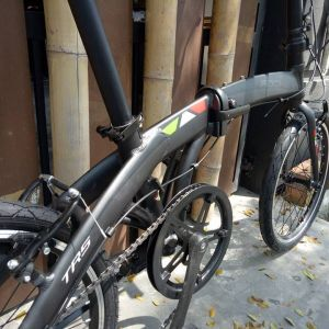 "20"" trs rocker alloy 7s folding bike basikal"