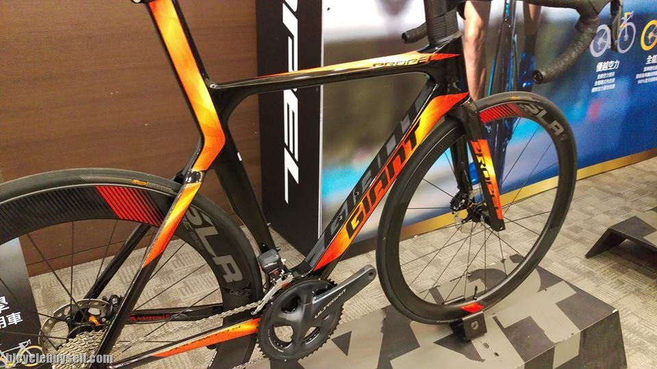 Clearance 2018 Giant Propel Advanced Sl 1 Disc S Size Only