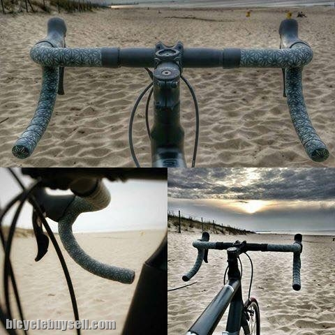 Supacaz SUPER STICKY KUSH Handlebar Bicycle Bar Tape GUN METAL GREY