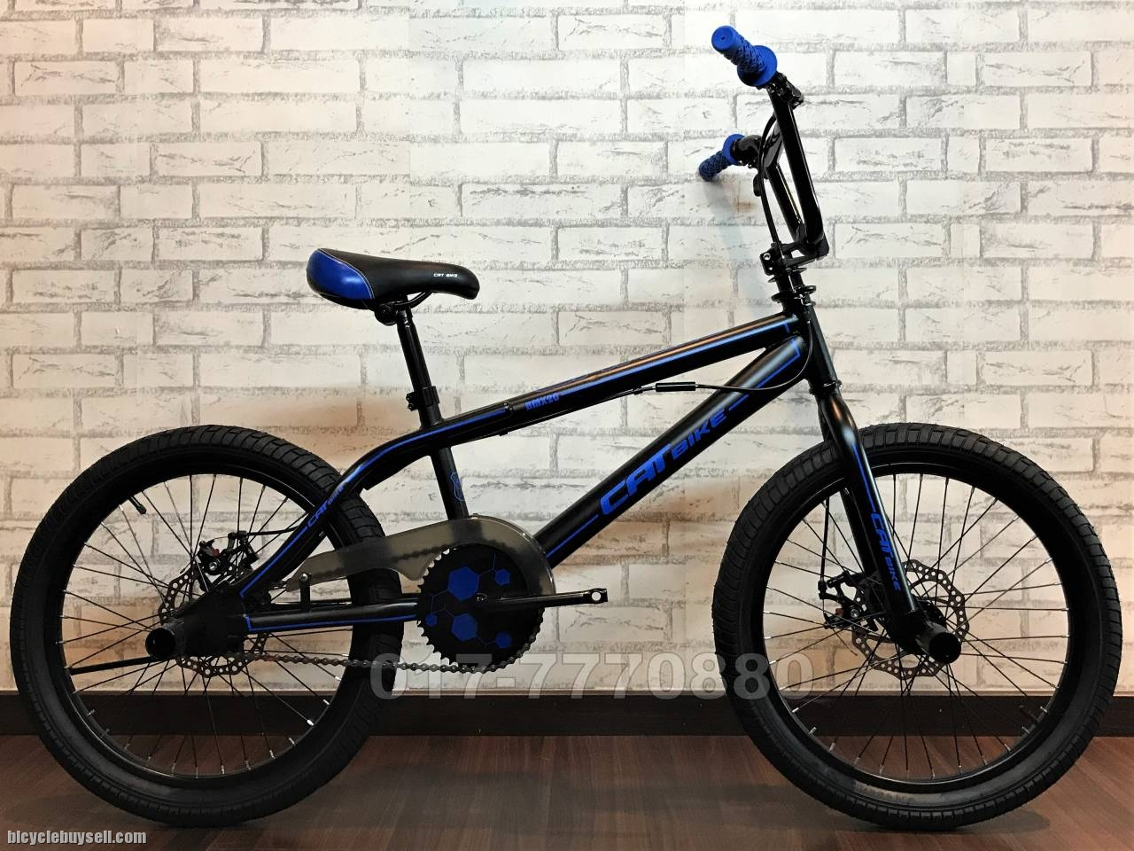 new gt bmx bicycle bike basikal free style with kangaroo bar. Black Bedroom Furniture Sets. Home Design Ideas