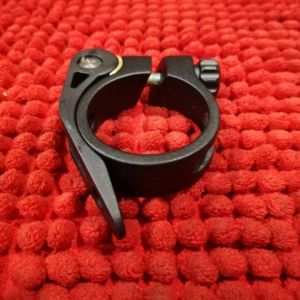 SEATPOST CLAMP 34.9 ( CLEARANCE )