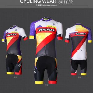 SPAKCT MAN'S SHORTS SLEEVE CYCLING JERSEY