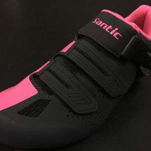 New Year SALE - SANTIC HERMAN Pink Road Cycling Shoes - READY STOCK