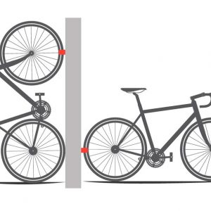 NEW ARRIVALS- Creative RICHY Parking Clip Wall Mount/Wall Rack For Road Bike