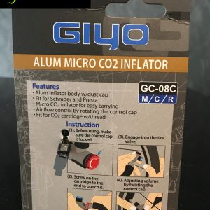 GIYO Adjustable CO2 Tyre Inflator Pump (Without CO2 Cartridge) Made in Taiwan